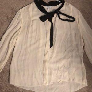 100% silk babaton shirt